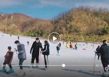 视频:滑雪猿人山